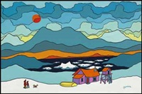 ice floes by ted harrison