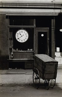 repair shop, christopher street, new york by berenice abbott