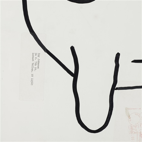 untitled bunny by ray johnson