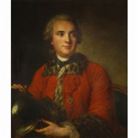 portrait of a gentleman by louis tocqué
