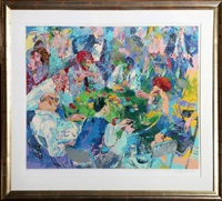 steed parker by leroy neiman