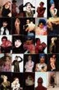 photo-weaving of 25 self-portraits as patina du prey by hunter reynolds