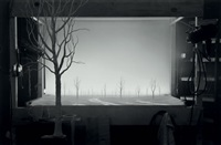 staging silence (set photo) by hans op de beeck