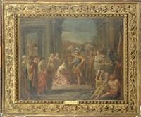 la dame agenouillée by jacques-louis david