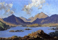 loch fleet, sutherland (+ loch marie; pair) by edward holroyd pearce