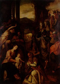 konungarnas tillbedjan by domenico di paride alfani