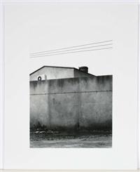 fabrikmauer/balkon/sitzplatz/kleine böschung/gewerbeneubau/mauerweg (set of 6) by oliver boberg