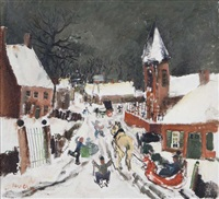 plaisirs d'hiver by albert saverys