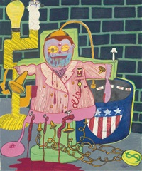 untitled by peter saul