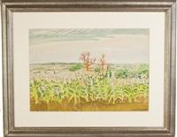 september sunlight by charles ephraim burchfield