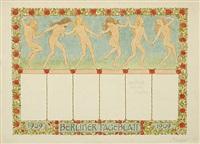 berliner tageblatt (sommerreigen) by hugo hoppener fidus