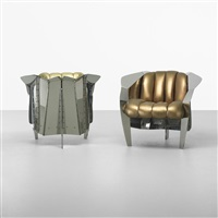 chicago chairs from untitled no. 2, chicago (pair) by krueck & sexton