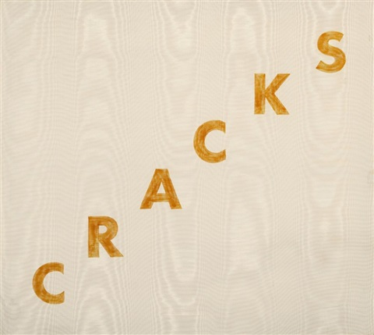 cracks by ed ruscha
