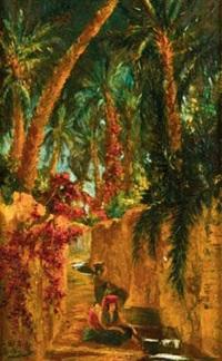 oasis, algérie by georgette agutte