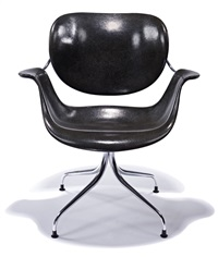 swag leg chair (model daa) by george nelson