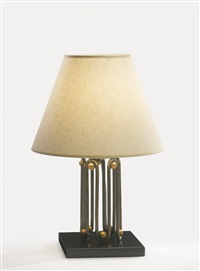 ondulation table lamp by jean royère