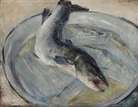 visch op schotel by walter vaes