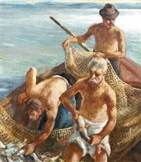 halászok by paul udvary