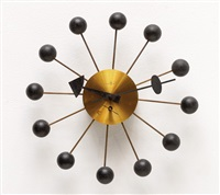 ball clock (model 4755b) by george nelson