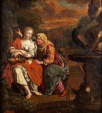 pomona och vertumnus by christian van couwenbergh
