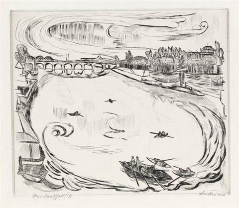 mainlandschaft by max beckmann