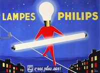 lampes philips by paul igert