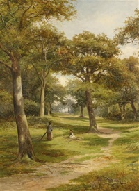 job of the gumslave, sutton park by john bates noel