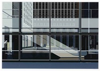 manhattan (from urban landscapes no. 3) by richard estes