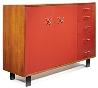 cabinet (model 4937-a) by george nelson