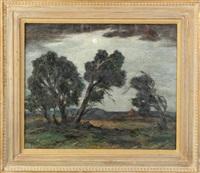 landscape by albert lorey groll