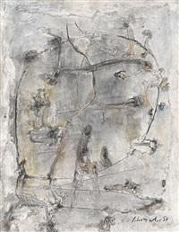 g-10/1959 by emil schumacher
