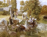 the washing party by abel boulineau