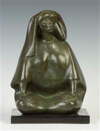 seated figure of a lady by francisco zúñiga
