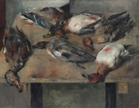 nature morte aux canards by walter vaes