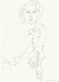 portrait de femme by matisse
