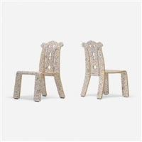 chippendale chairs, pair by robert venturi