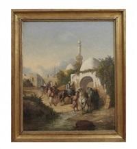 orientaliskt motiv by giulio fabri