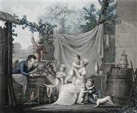 l'heureuse famille` by jean-pierre-marie jazet