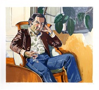 the accountant (marvin) by alice neel