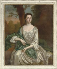 a portrait of a lady by john wollaston