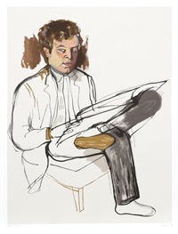 portrait of edward avedesian by alice neel
