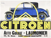 citroen. auto garage laumonier by r. de valerio