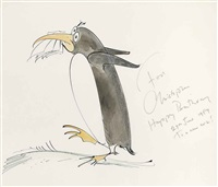 the busy penguin by gerald scarfe