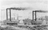 the great race on the mississippi by france m. folse
