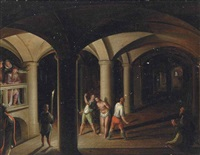 the flagellation of christ by hendrick van steenwyck the younger