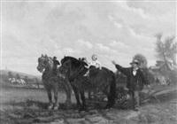 der junge reiter by charles coumont
