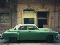 green car by robert polidori
