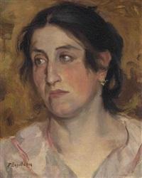 portrait de femme by frédéric bazille