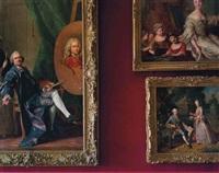 première antichambre de madame victoire corps central- r.d.c., château de versailles by robert polidori