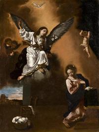 anunciación by flaminio (dagli ancinelli) torri